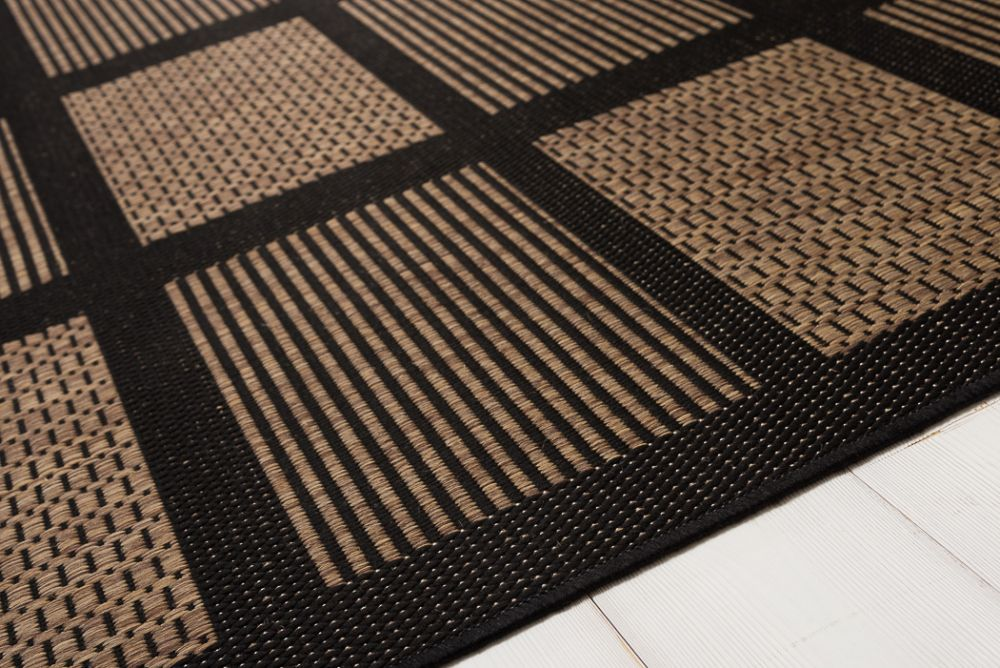 Brick Line Coffee/Black 133x195