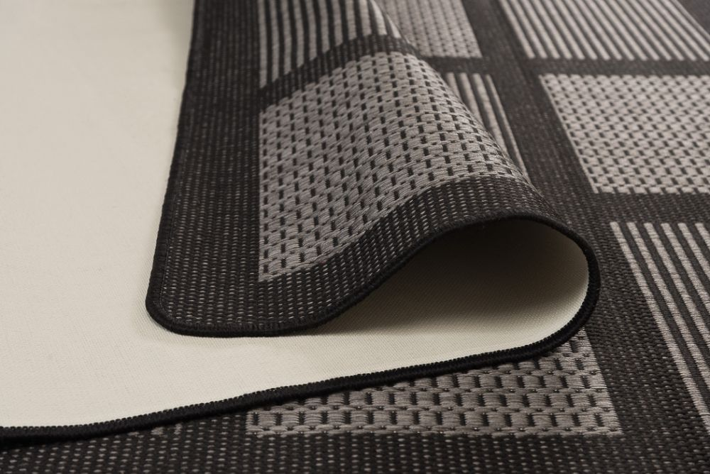Brick Line Grey/Black 160x230