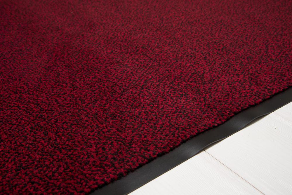 Clean Rot/Schwarz 90x150