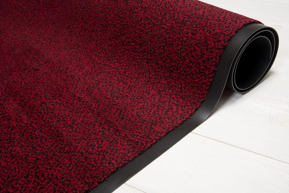 Clean Flur Rot/Schwarz