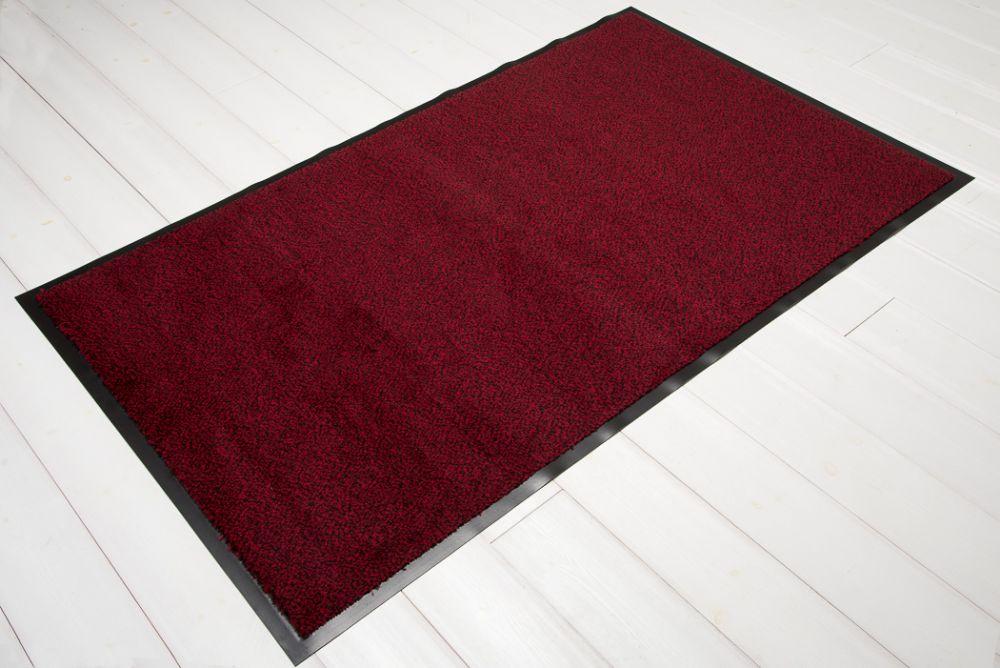 Clean Rot/Schwarz 60x90