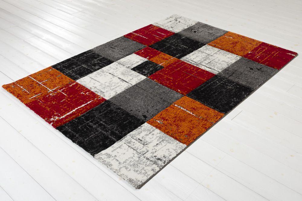 London Square Red/Orange 160x230