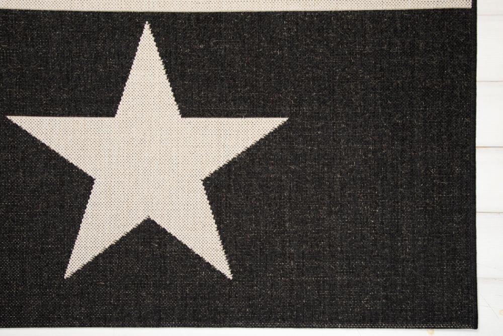 Schack Schwarz/Weiß 135x190