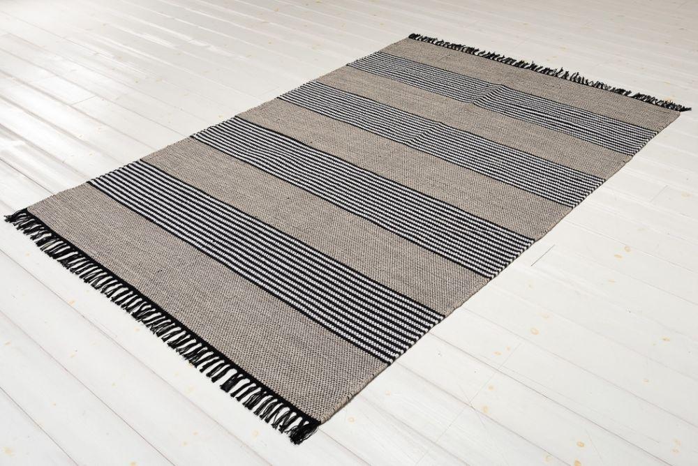 Kragerö Schwarz 160 x 230 cm