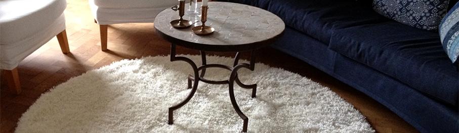 Runde Teppiche