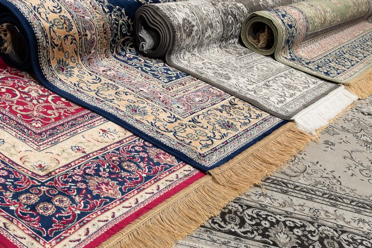 Kunstseide & Viskose Teppiche